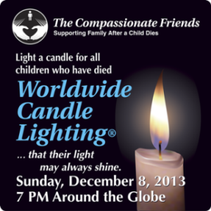 Compassionate Friends Worldwide Candle Lighting 2013