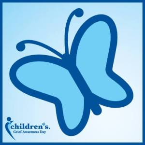 The Children's Grief Awareness Day Hope Butterfly http://www.childrensgriefawarenessday.org/