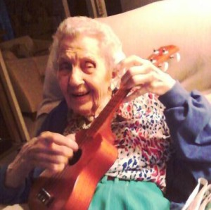 At nearly 95 last last year, Aunt Ginny was still eager to try something new.
