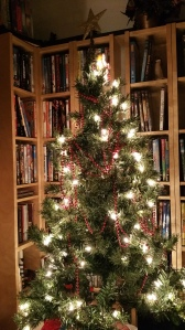 This was our barely dressed Christmas tree (photo by Teresa TL Bruce).