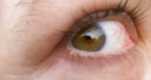After my husband died, my brown eyes looked green to me. (Photo by Teresa TL Bruce/TealAshes.com