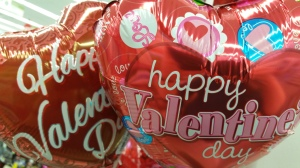 Valentine's Day balloons (photo by Teresa TL Bruce, TealAshes.com)