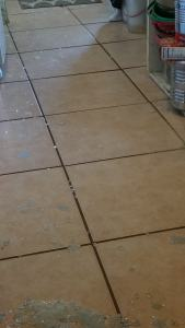 tile floor, shattered glass, grief, far-flung, Teresa TL Bruce, TealAshes.com